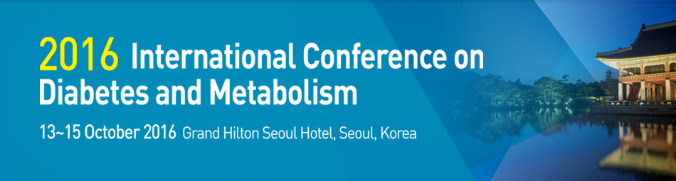 2016 International Conference on Diabetes and Metabolism